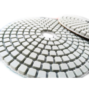 Алмазный гибкий шлифовальный круг (липучка, черепашка) 100 мм