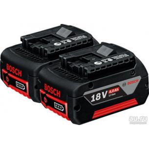 2 аккумулятора GBA 18V 4.0Ah + GAL 18V-40 Professional