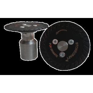 Алмазный диск Ф 50 мм на удлиненном фланце