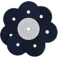 Круг шлифовальный - липучка на сухую Ф 100 мм