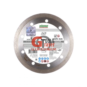 Алмазный диск для плитки (керамики) Distar 1A1R Razor