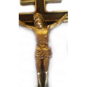 Крест бронзовый старославянский 17*35 см