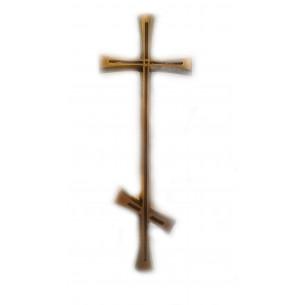 Бронзовый крест 7,5 * 20 см