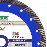 Круг алмазный отрезной круг по бетону Turbo  Super Max