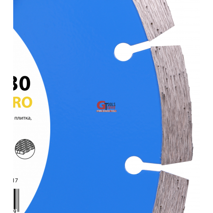 Круг алмазный отрезной по бетону 1A1RSS/C3-H 230x2,6/1,8x10x22,23-16 Baumesser Beton PRO